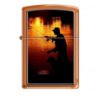 Зажигалка ZIPPO Ночная рыбалка