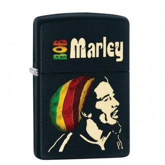 Зажигалка ZIPPO Bob Marley Black Matte