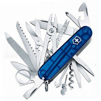 Нож Victorinox Swiss Champ Blue