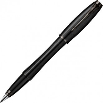 Перьевая ручка Parker Urban Premium Matte Black CT