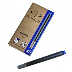 Картриджи для перьевых ручек Parker (синие)