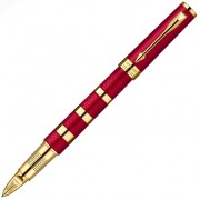 Ручка 5-th Parker Ingenuity Large Red Rubber&Metal GT