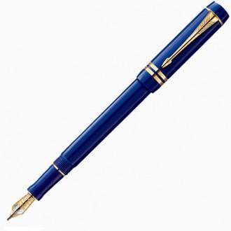 Перьевая ручка Parker Duofold Lapis Lazuli GT International