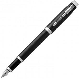 Перьевая ручка Parker IM Metal Black CT