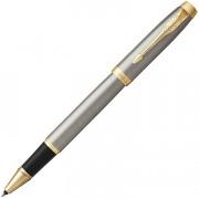 Ручка роллер Parker IM Metal Core Brushed Metal GT