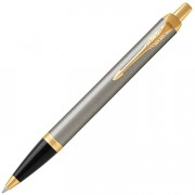 Шариковая ручка Parker IM Metal Core Brushed Metal GT