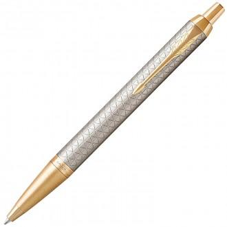 Шариковая ручка Parker IM Premium Warm Silver GT