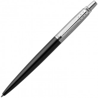 Шариковая ручка Parker Jotter Essential Satin Black CT