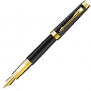 Перьевая ручка Premier Lacquer Black GT