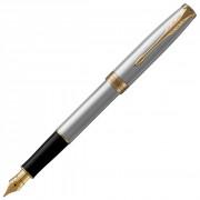 Перьевая ручка Parker Sonnet Stainless Steel GT