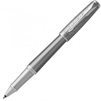 Ручка-роллер Parker Urban Premium Silvered Powder CT