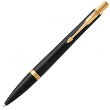Шариковая ручка Parker Urban Black GT
