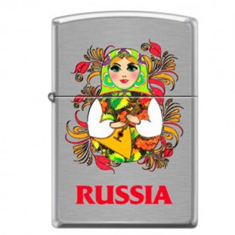 Зажигалка ZIPPO 200 Matroshka Doll