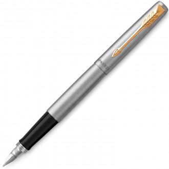 Перьевая ручка Parker Jotter Stainless Steel GT