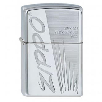 Зажигалка ZIPPO Classic 250 Zippo Made In US High Polish Chrome