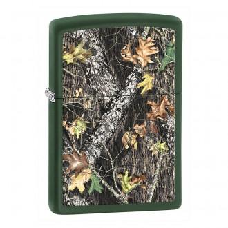 Зажигалка ZIPPO Mossy Oak Green Matte