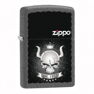 Зажигалка ZIPPO Skull Crown