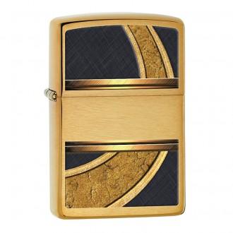 Зажигалка ZIPPO Gold & Black