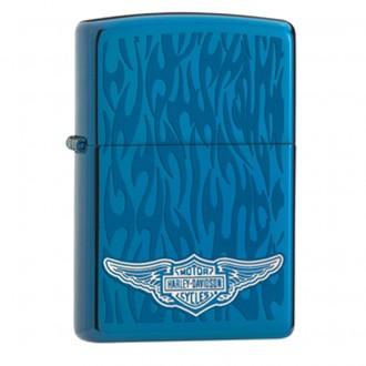 Зажигалка ZIPPO Harley-Davidson Sapphire