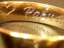 Гравировка на золоте