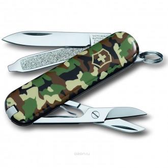 "Нож-брелок VICTORINOX Classic SD ""Camouflage"""