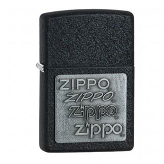 Зажигалка ZIPPO Black Crackle 2