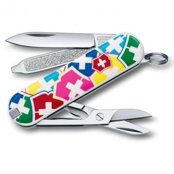 """Нож-брелок VICTORINOX Classic """"VX Colors"""""""