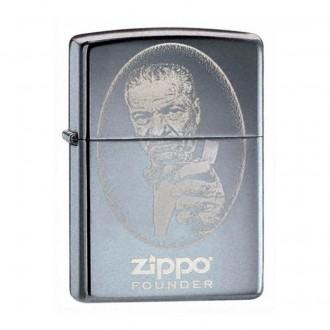 Зажигалка ZIPPO Founder Black Ice