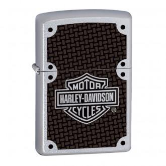 Зажигалка ZIPPO Harley-Davidson Satin Chrome™