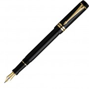 Перьевая ручка Parker Duofold Black GT International