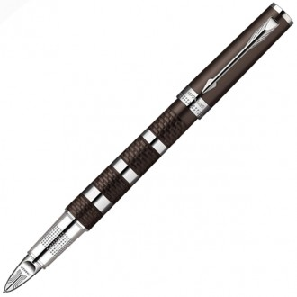 Ручка Parker 5-th Ingenuity Large Brown Rubber&Metal CT